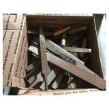 Large lot of files and chisels