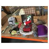 Lot of assorted household items, Christmas and