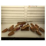 Wood shoe inserts