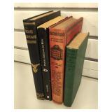 3 vintage 1st edition hardcover books & 1