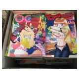 Adult Japanese anime manga comics - approx. 29