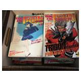 Japanese anime manga comics - approx. 25 - all