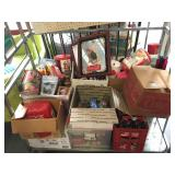 Large Coca-Cola collection incl. mirrors,