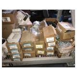 Large lot of assorted electrical conduit
