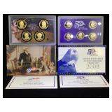 2008 US Proof Set - State Quarters and