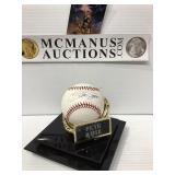 Pete rose autographed baseball no COA