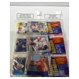 3 sealed baseball rack packs
