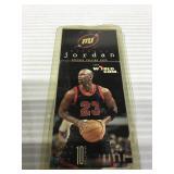 World com Michael Jordan rare phone card unused