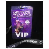 VIP Santana lanyard from the House of Blues in