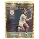 Bjorn Borg poster from the April 1980 tennis