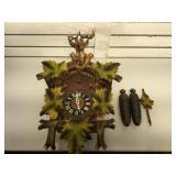 German CooCoo clock, pendulum and weights
