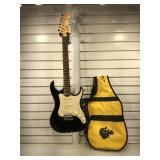 Lyon by Washburn guitar, vg condition, gig bag