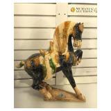 Ming Dynasty style ceramic horse, ceramic, 19