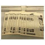 Lot of 1975 Serial World newsletters. These are
