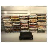 Large lot of assorted DVD
