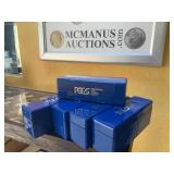 PCGS Coin holder boxes lot of 5