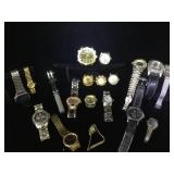Lot of assorted watches - not currently running -