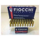 100 rounds 380 Auto ammo - Fiocchi 95 Gr FMJ