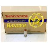 22 Rounds New .40 Cal Winchester Ranger Law