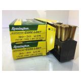60 Rounds Factory New Remington 30-30 Win ammo -