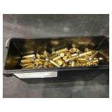 Plastic ammo can with 45 LC ammo