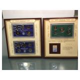 1998 and 2000 Proof Sets with stamps and info