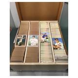 Mixed sports cards baseball