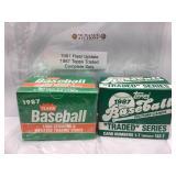 1987 Complete factory baseball sets