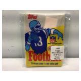 1985 topps football sealed pack