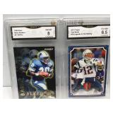 2 gma graded sports cards
