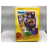 1989 donruss baseball sealed box