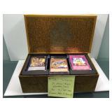 Yu-gi-oh legendary decks box with holos & rares