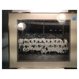 Vintage photo of the new York yankees