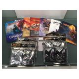 Magic the gathering lot Players guides ,sleeves &