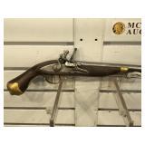 Tower Copy Flintlock Pistol - Made in Spain -