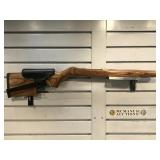 Wooden rifle stock for Ruger 10/22