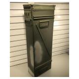 Large Metal Military ammo can - 32 in tall