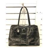 Coach Black Patent Leather, Frame Case, Optic