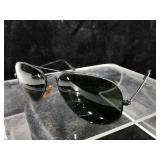 Ray-Ban Vintage Aviator Sunglasses with case.