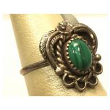 Sterling Silver Hand Made Native American Ring