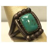 Sterling Silver Native American Hand Made Ring