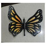 Vintage Wood Butterfly Hanging Wall Art