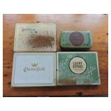 Vintage Collection of  Metal Cigarette Tins