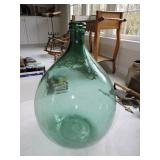 Vintage French Country Demijohn Bottle