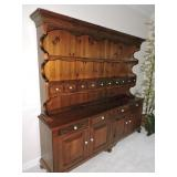 Vintage Pine China Cupboard