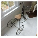 Antique 19th Century Metal Tricycle