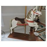 Vintage Full Size Carved Carousel Horse