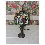 Vintage Tiffany-Style Composition Lamp