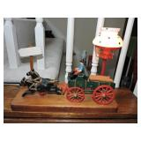 Reproduction Cast Iron Horse & Carriage Lamp