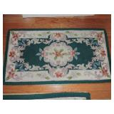 Couristan 100% Wool Hand-Hooked Rug